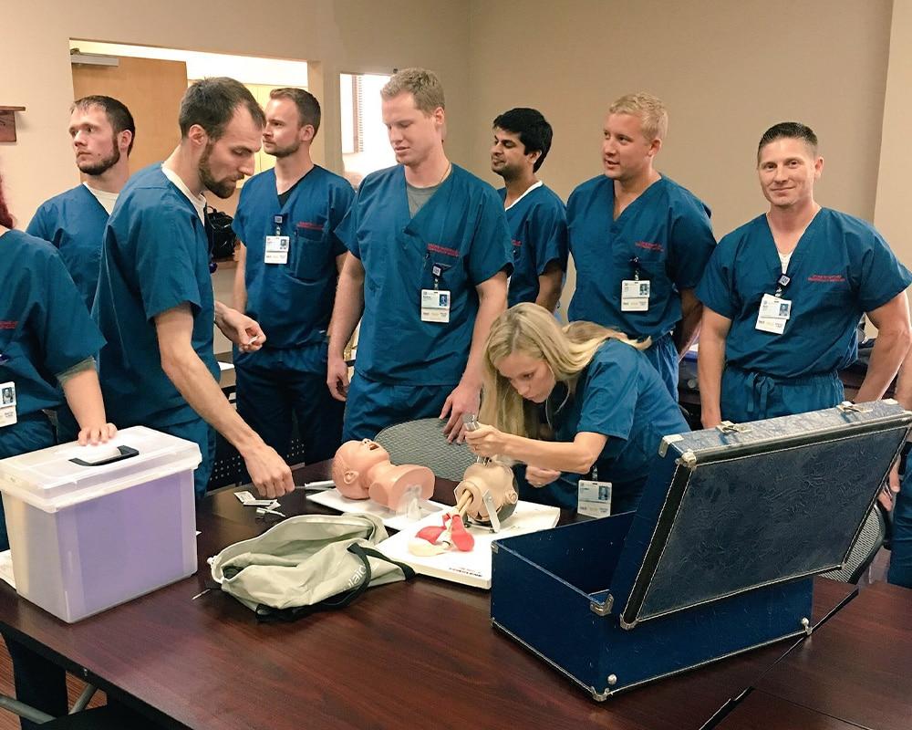 training curriculum horizontal 5 - Fort Worth EM Residency Program