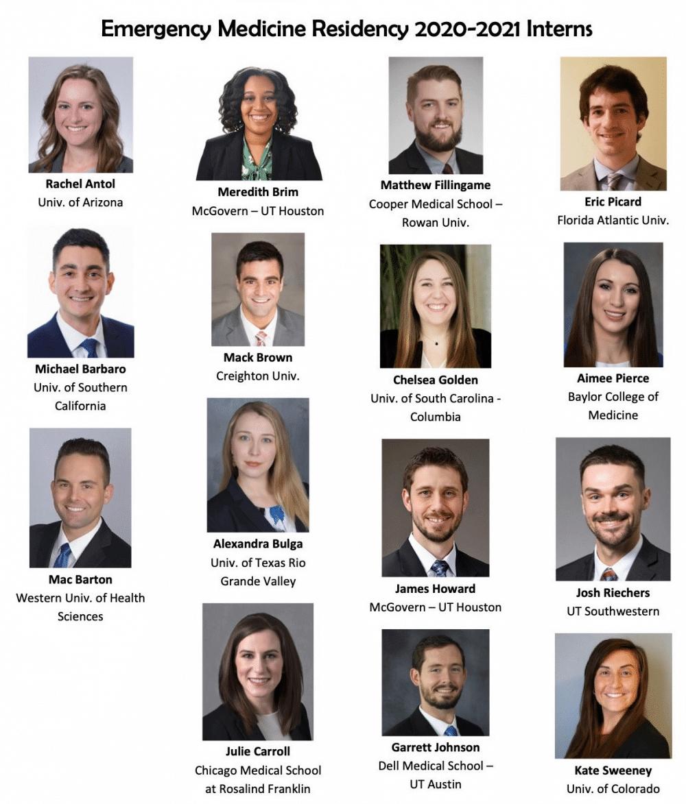 conference august 2020 heme onc new interns - Fort Worth EM Residency Program